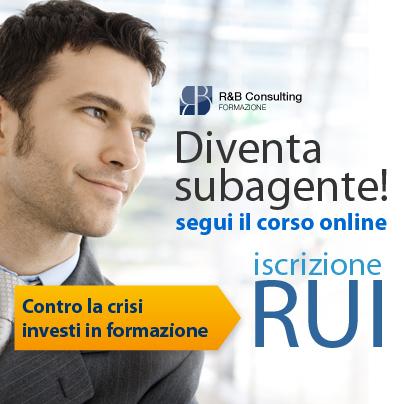 Il corso online per l'iscrizione alla sezione E del RUI e diventare sub agente assicurativo