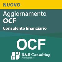 Corso Aggiornamento OCF