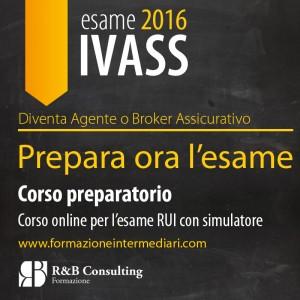 corso esame IVASS rui 2016