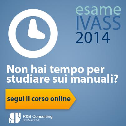 Prepara l'esame IVASS RUI 2014 con il corso online