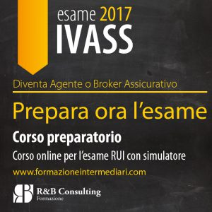 Corso esame IVASS 2017