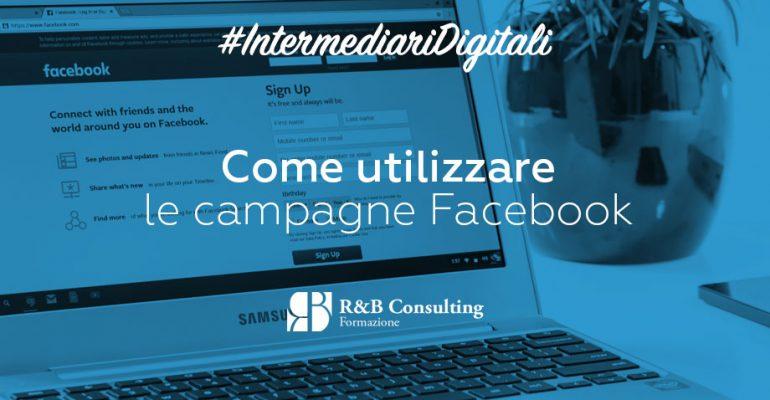 utilizzare campagne facebook
